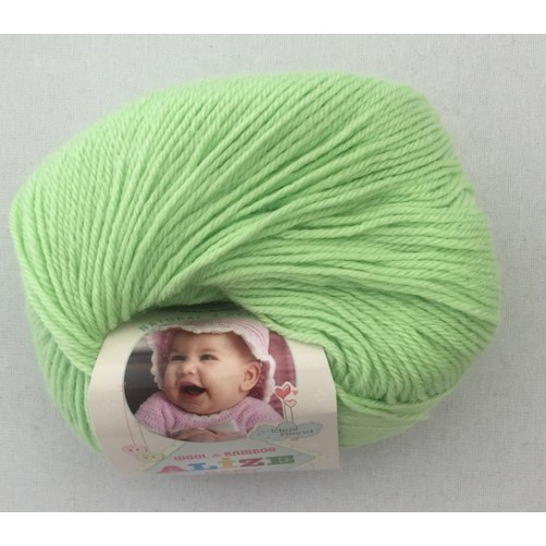 BABY WOOL PISTACCHIO COL N°41