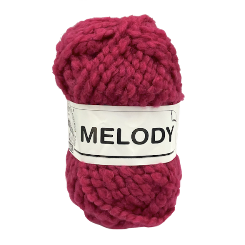 Gomitolo Lana Melody 100g Fuxia n°152