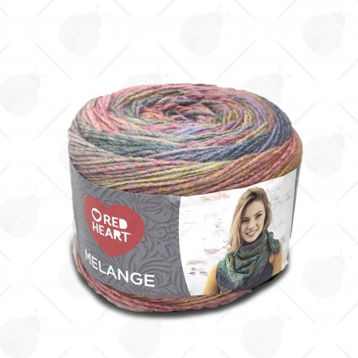 Gomitolo Lana Red Heart Melange 150gr Mix Color n°5