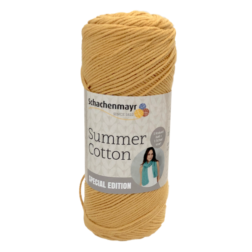 Gomitoli Summer Cotton Soft & Easy 150g SPECIAL EDITION Giallo n°22