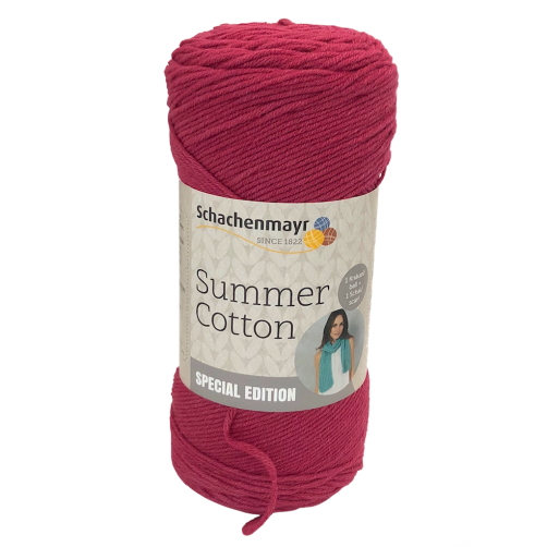 Gomitoli Summer Cotton Soft & Easy 150g SPECIAL EDITION Fuxia Scuro n°35